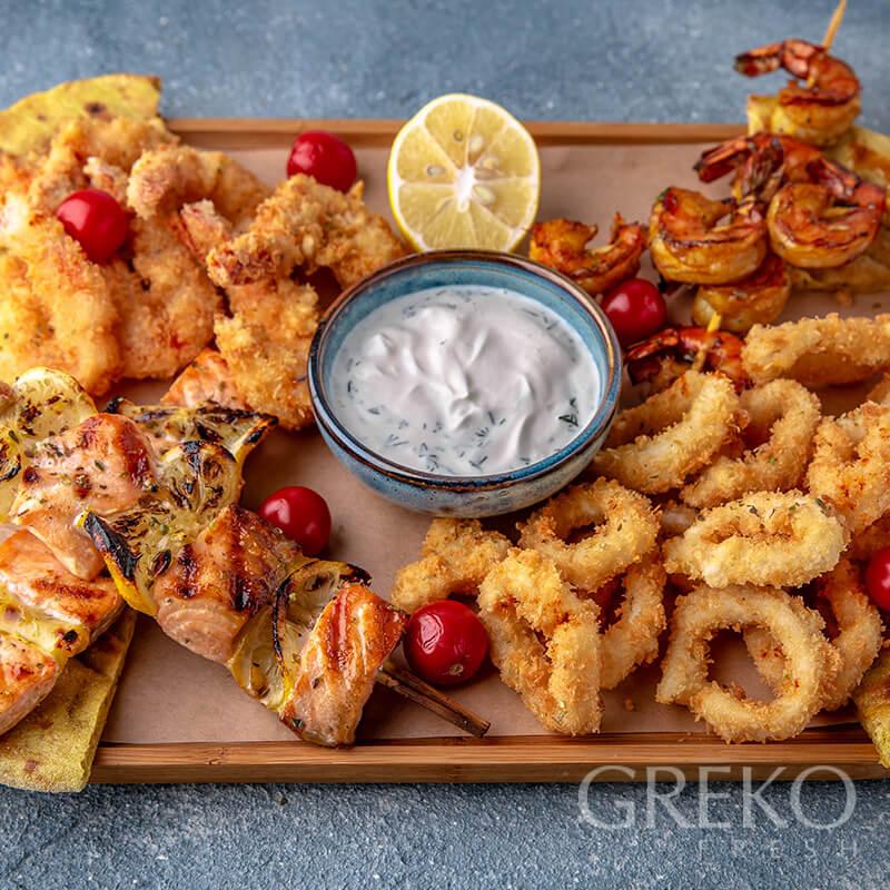Asorti de fructe de mare Greko Fresh