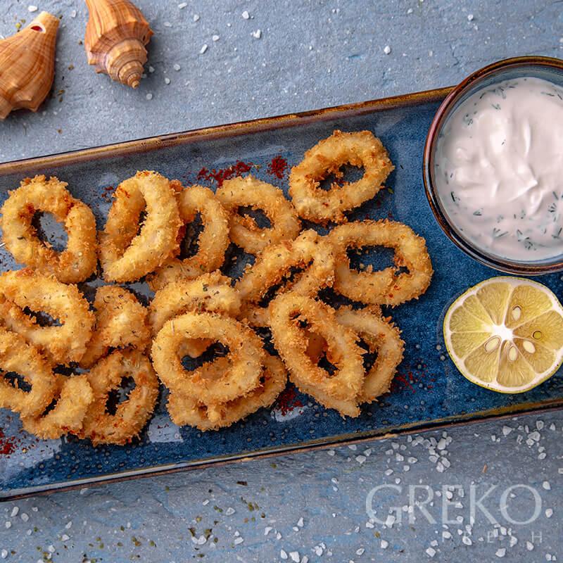 Calamari in crusta crocanta