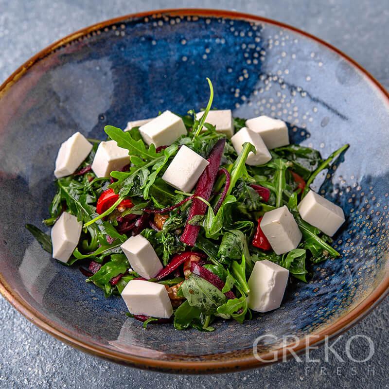 Salata cu rucola si sfecla rosie